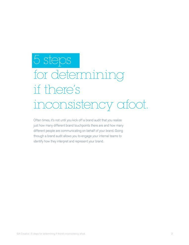 5 steps for determining if there's inconsistency afoot resource.