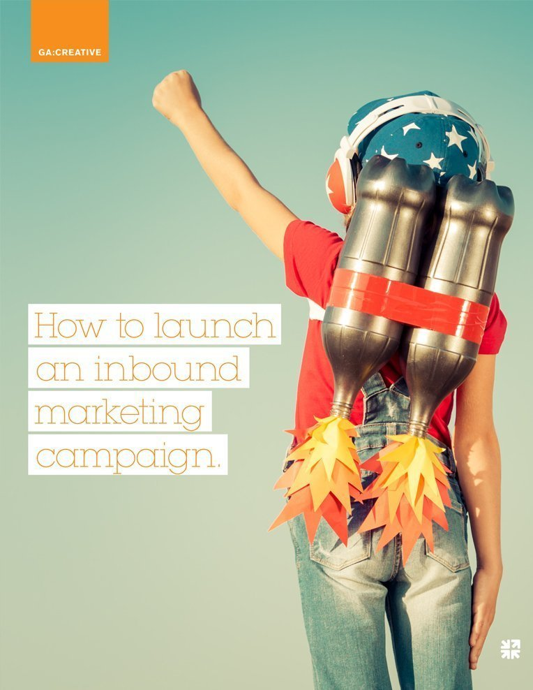 How to launch an inbound marketing campaign asset.